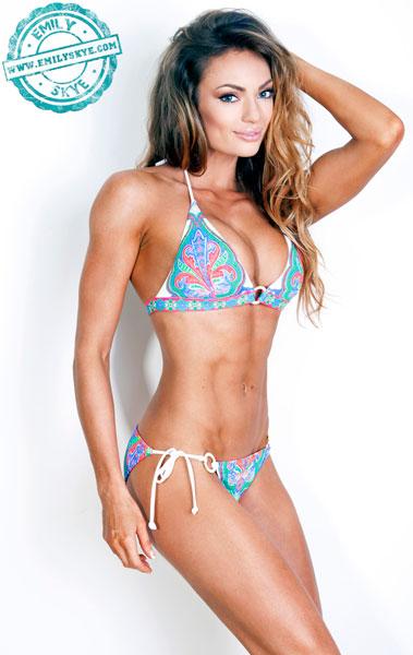 Emily Skye -Australian model - WNBF Miss USA Figure y Best Body ...skye model