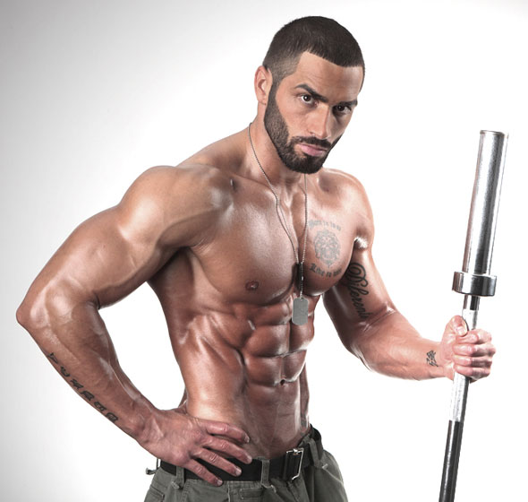 Lazar angelov hairstyle buzzed hair for Mundo fitness gym